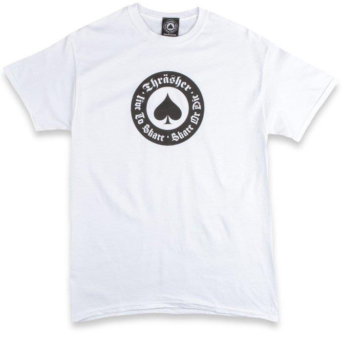 《Nightmare 》Thrasher Magazine Oath T-Shirt - White