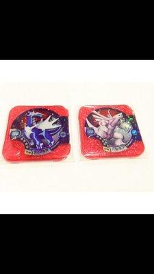 日本正版 神奇寶貝 TRETTA 方形卡匣 U3彈 大師等級 四星卡 帝牙盧卡 4星卡 帕路奇犽