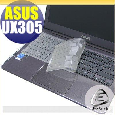 【EZstick】ASUS UX305 UX305CA UX305FA UX305LA 奈米銀抗菌TPU 鍵盤保護膜 鍵盪膜