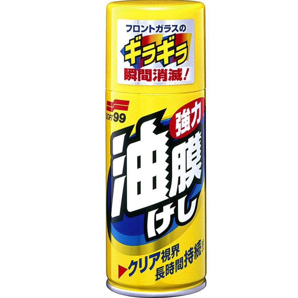 【阿齊】日本 SOFT99 超級油膜去除劑 雨天安全駕駛 油膜去除劑 強力油膜 除油膜 去油膜 去除撥水劑 玻璃清晰
