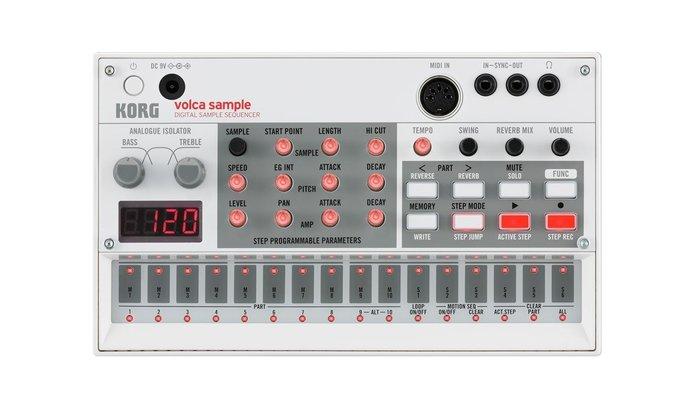 【金聲樂器】Korg Volca Sample 取樣 編曲機 合成器