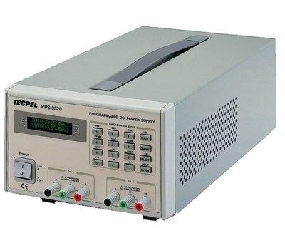TECPEL 泰菱》PPS-3520 GPIB 可程式直流電源供應器 0-35V 0-2A DC電源供應器 送DMM-139