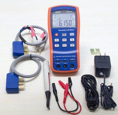 TECPEL 泰菱》LCR-Meter-100KHz-DCR 電阻 電感 電容測試儀 RLC LCR-615