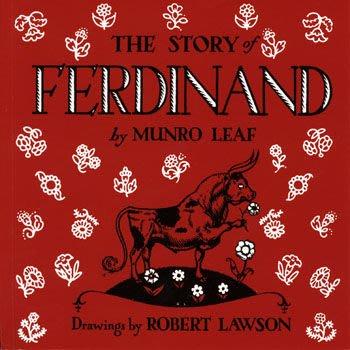 *小貝比的家*THE STORY OF FERDINAND (愛花的牛) /平裝繪本/3~6歲