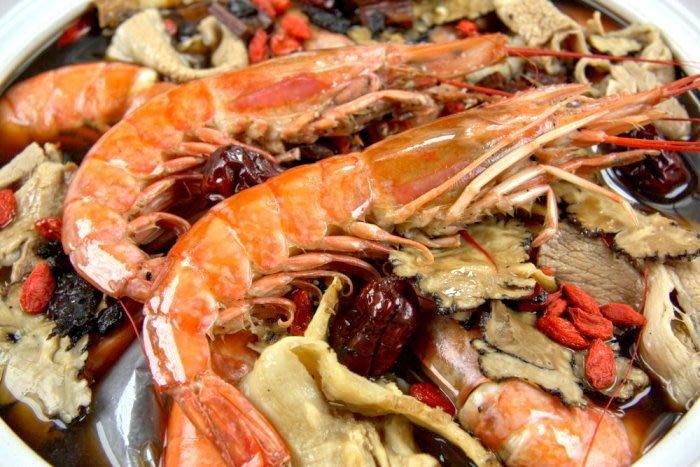 【滋補養生系列 】天使紅蝦 L1/ 1尾~教您做燒酒天使紅蝦~品嚐燒酒蝦鮮甜又可滋補養生~溫暖全家人的料理~