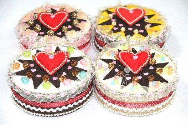 不織布蛋糕手創意市集文創美勞加盟材料包DIY批發芒果音樂鐘蛋糕CM01015大實踐okdiy