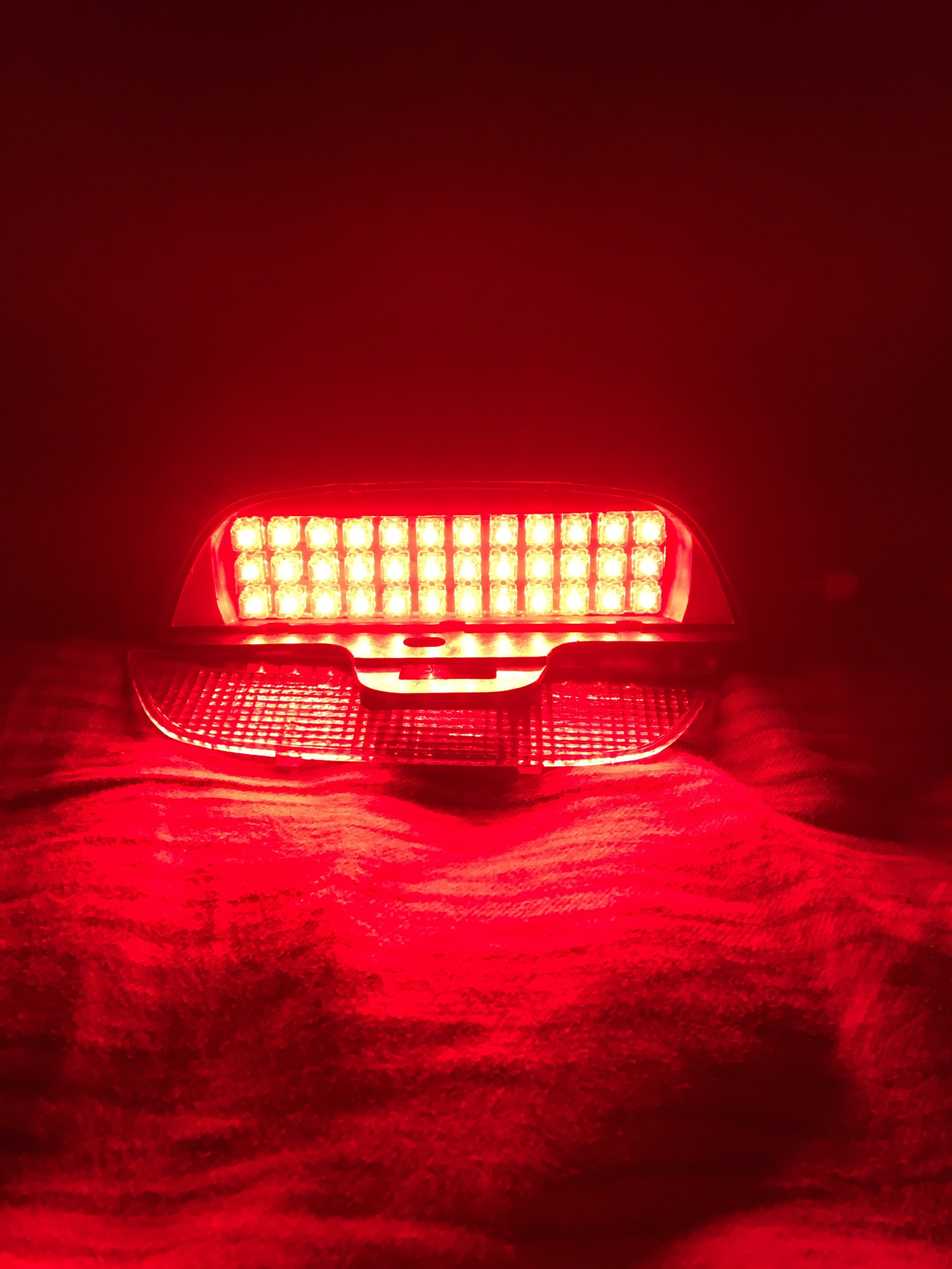 =蘋果光LED專賣=TOYOTA爆亮紅光食人魚LED第三煞車燈TERCEL PREMIO EXSIOR COROLLA