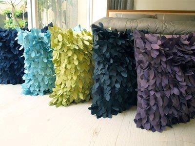 【3折】 中抱枕(45X45)【葉子】共五色 -麗塔寢飾-