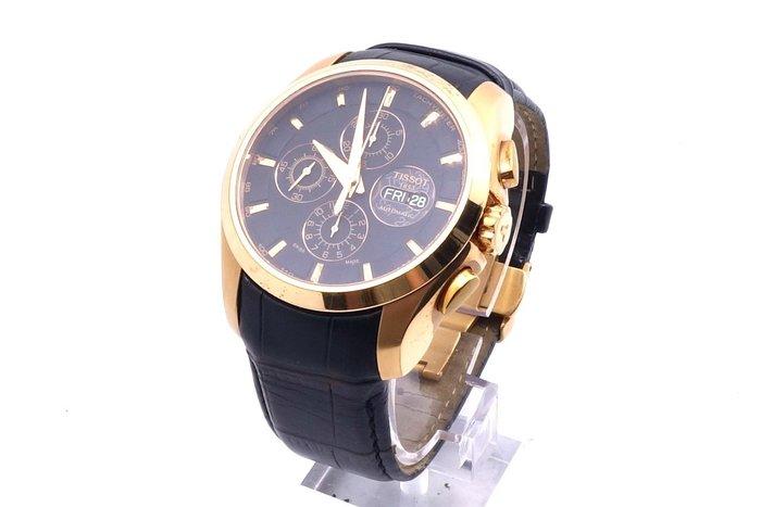 【台中青蘋果】天梭 TISSOT 三眼計時建構師機械腕錶 43mm T03561436051 二手 男錶 #21548