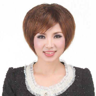 水媚兒假髮7M080♥新款女士假髮 自然逼真蓬鬆款 短捲髮♥ 現貨或預購 團購批發