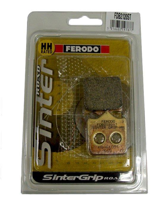 ☆光速改裝精品☆FERODO FDB2120ST BREMBO 輻卡 4PCS 剎車皮 煞車皮 來令片