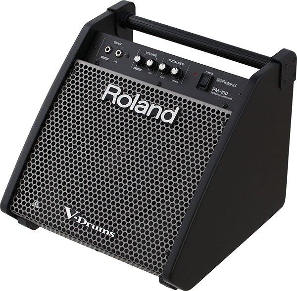《民風樂府》ROLAND PM-200 電子鼓喇叭12吋 180瓦 監聽音箱 全新品公司貨 現貨在庫