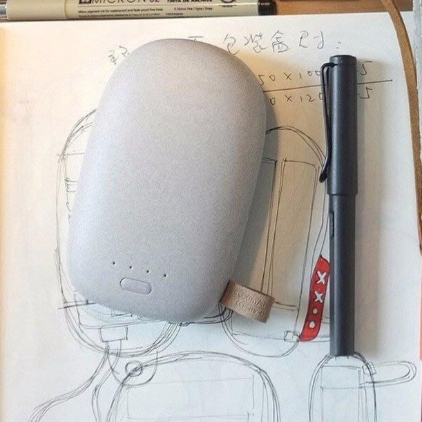 創意卡通 鵝卵石行動電源 12000mah 充電寶 攜帶方便 禮品