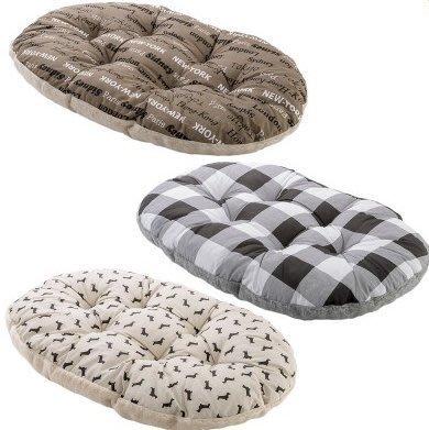 ~中大型犬用~Ferplast飛寶10型舒適睡墊 顏色 出貨 貓床 狗床 兩面 睡窩  義