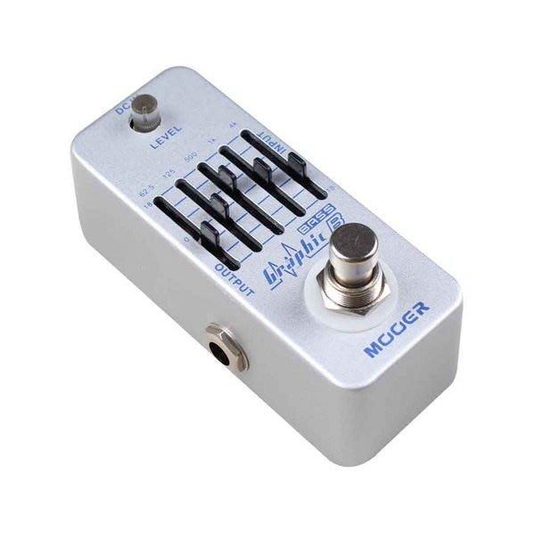 ☆ 唐尼樂器︵☆ Mooer Graphic B 電貝斯 Bass 5段 EQ 等化器單顆效果器