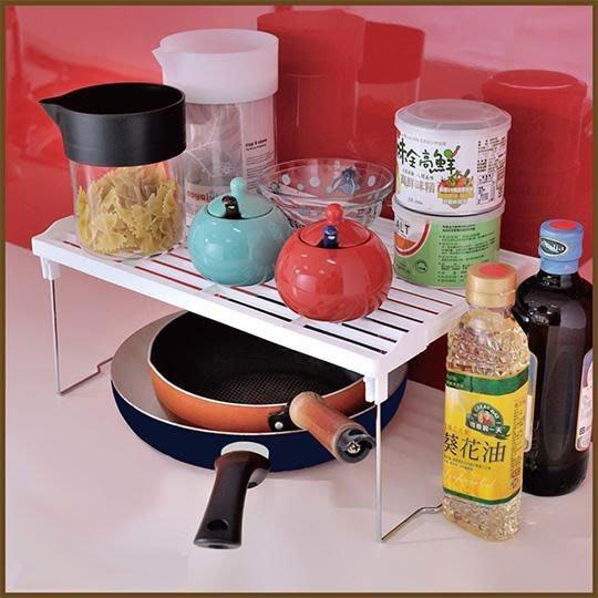 浴室/廚房/臥室【家具先生】BCF21 不鏽鋼可疊式萬用收納架/置物架/架子