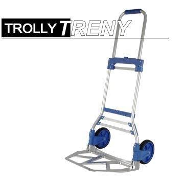 【TRENY直營】鋁製兩輪伸縮載物車 載重70KG  購物車 行李車 載物車 手推車  1676