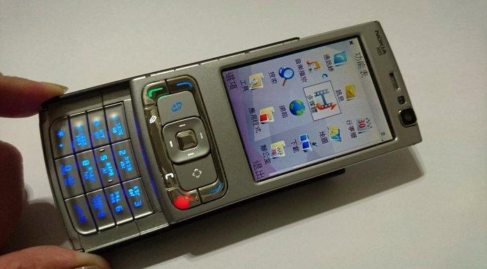 Nokia N95 亞太4G可用 雙向滑蓋 手機《附原廠電池+全新旅充》MADE IN  FINLAND(芬蘭)