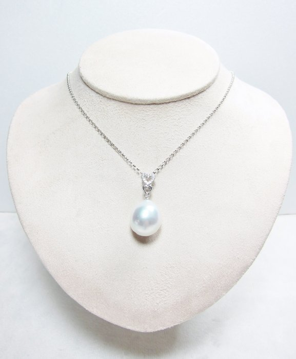 14.8mm 南洋白珍珠墜子【元圓珠寶】
