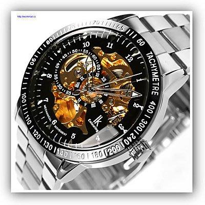 yes99buy加盟-正品IK雙面鏤空全自動機械表熱款飛龍透底男表個性男士手錶