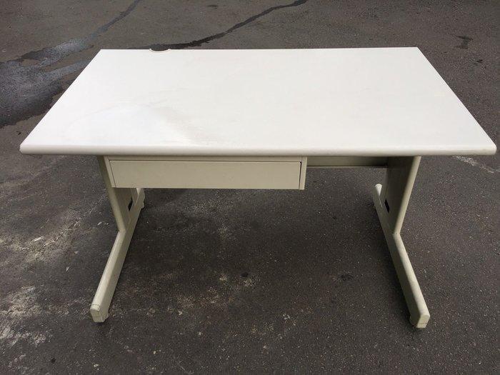 非凡二手家具 120cm辦公桌含中抽*工作桌*事務桌*電腦桌*書桌*洽談桌