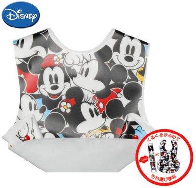 尼德斯Nydus~* 嚴選日本製 嬰兒/Baby用品 迪士尼 米奇 Mickey 吃飯用 圍兜 圍裙