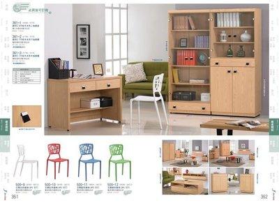 ※尊爵床墊 各式家具批發※維特3.6尺栓木本色二抽書桌 全省免運 可在享優惠價