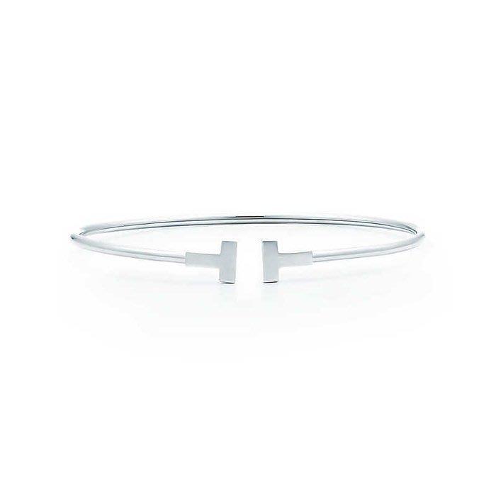 Melia 米莉亞代購 Tiffany&Co. 925純銀 Tiffany 蒂芙尼 項鍊 手鍊 手環飾品 禮物 T手環