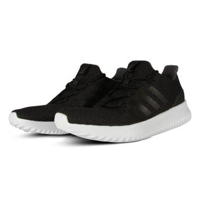 ADIDAS NEO CLOUDFOAM ULTIMATE 慢跑鞋 男鞋 運動 休閒 黑白 基本款 CG5800 YTS