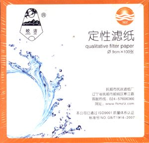 快速型 油濾芯 機油測試 機油試紙 機油濾紙 定性濾紙 實驗耗材 (9cm) / 1盒 100張