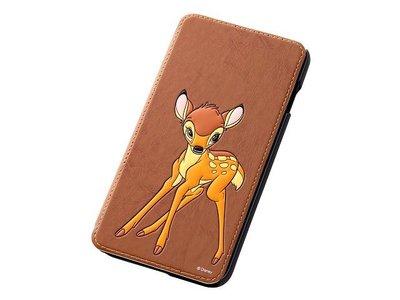 尼德斯Nydus~* 日本正版 Disney 迪士尼 小鹿斑比 翻頁式 手機殼 iphone6+ plus 5.5吋