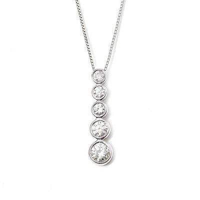 【JHT 金宏總珠寶/GIA鑽石專賣】0.51ct天然鑽墜/材質:18K(D000007)
