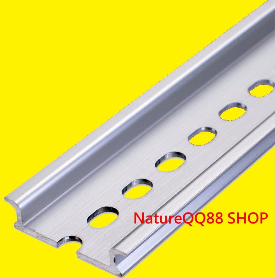 高品質 鋁合金 DIN 35mm 鋁軌 / 大鋁軌 / 導軌 / 配盤 / DIY / 器具固定