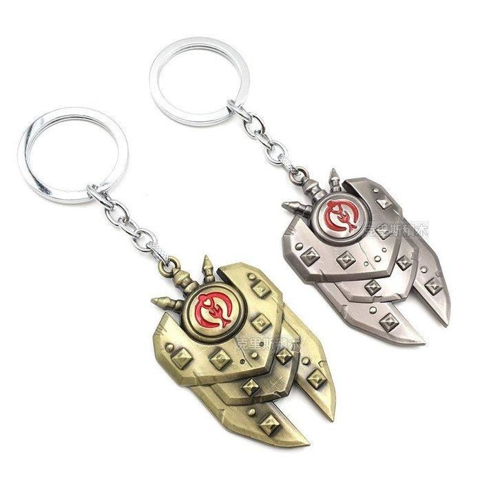 ~ ~ ~英雄聯盟 黎明之光 雷歐娜 烈陽守護者 鑰匙扣 帶鞘 武器 鑰匙圈 擺飾 模型