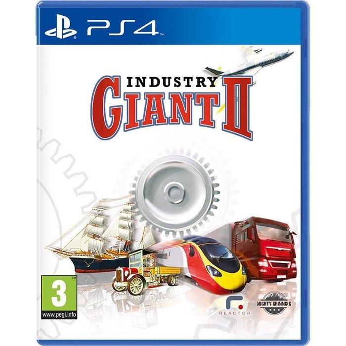全新未拆 PS4 工業大亨2 -英文版- Industry Giant 2 工業巨頭II 模擬頭家2 企業霸主