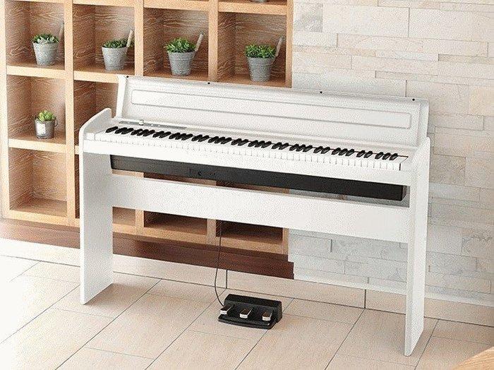 【名人樂器】KORG LP-180 數位 88鍵 電鋼琴 數位鋼琴 黑色款
