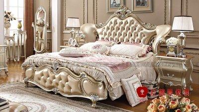 [ 紅蘋果傢俱 ] LM-235 維西莉亞系列 六尺床 雙人床 床架 床組  數千坪展示