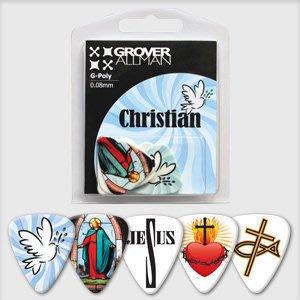 ☆ 唐尼樂器︵☆澳洲製 Grover Allman 主題系列『Christian』烏克麗麗/木吉他/電吉他 Pick 彈片