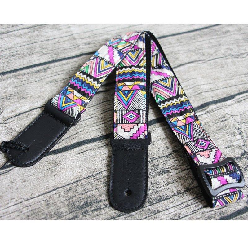 牛仔布料 民族風 烏克麗麗背帶 附背帶釘 原價330 特價250