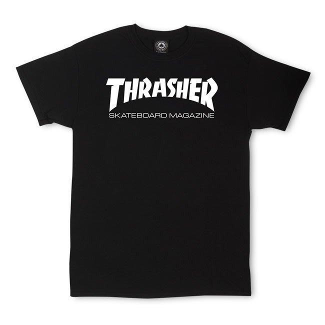 《Nightmare 》Thrasher Skate Mag T-Shirt - Black
