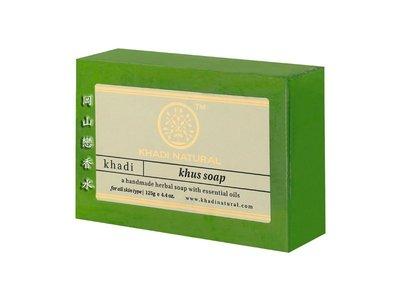 岡山戀香水~印度 Khadi 草本香根草手工精油香皂125g~優惠價:55元