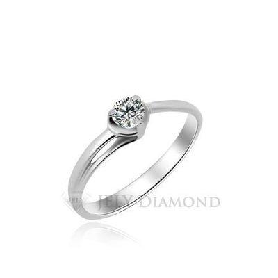 《JELY時尚館》【JELY Diamond】藏心---10分天然真鑽石戒指 §會員終生獨享交換維修優惠§