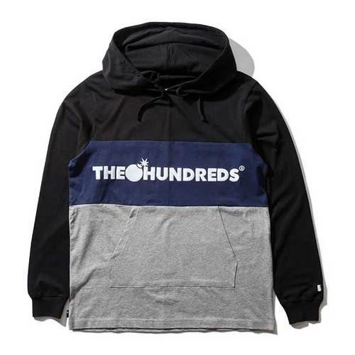 【HOPES】THE HUNDREDS DECK HOODED-BLACK