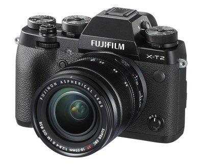 【高雄四海】Fujifilm X-T2 Kit(18-55mm).全新平輸.WIFI傳輸.翻轉LCD.雙卡槽旗艦機