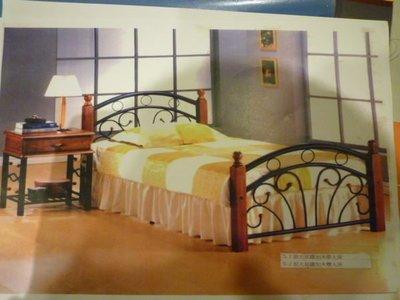 ※尊爵床墊 各款家具批發※馬來西亞原裝鍛造鐵床架雙人5尺4500 另有單人3.5尺 全省免運費