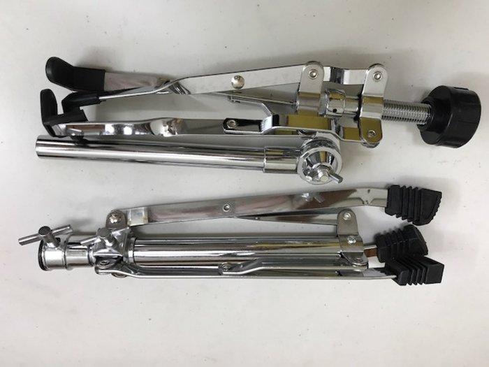筌曜樂器(F3092)全新 標準 爵士鼓 小鼓架 (鼓墊 練習鼓 打擊板 練習墊 10~14吋皆可使用)