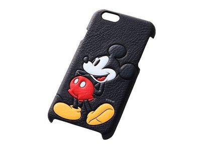尼德斯Nydus~* 日本正版 Disney 迪士尼 米奇 米老鼠 皮套 立體 背蓋式 手機殼 iphone6 4.7吋