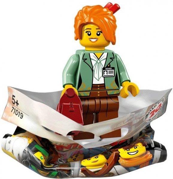 現貨【LEGO 樂高】積木/ Minifigures人偶包系列 忍者電影 71019 | #9 美沙子 Misako