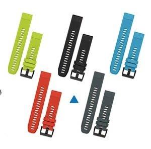 GARMIN 5色 矽膠錶帶 QUICKFIT fenix 5 適用22mm