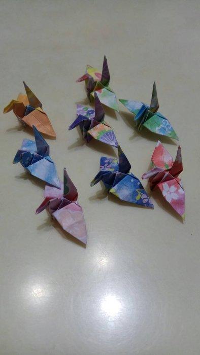 ※Amy小舖※~手工摺紙 紙鶴 千紙鶴 ((最佳禮物/情人節/畢業典禮/聖誕節/生日禮物 ))-千代色紙